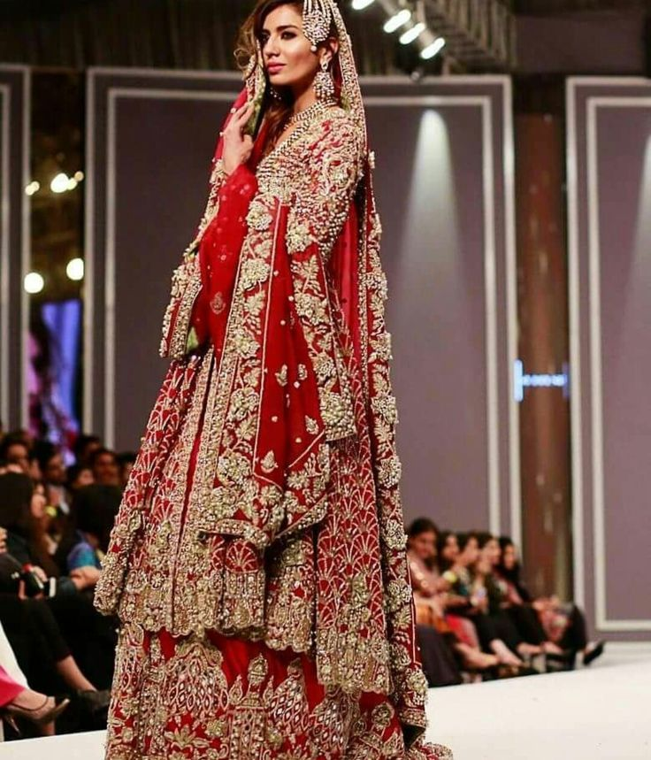 Pin by maheen on pakistani fashion pinterest for Sari inspired wedding dress