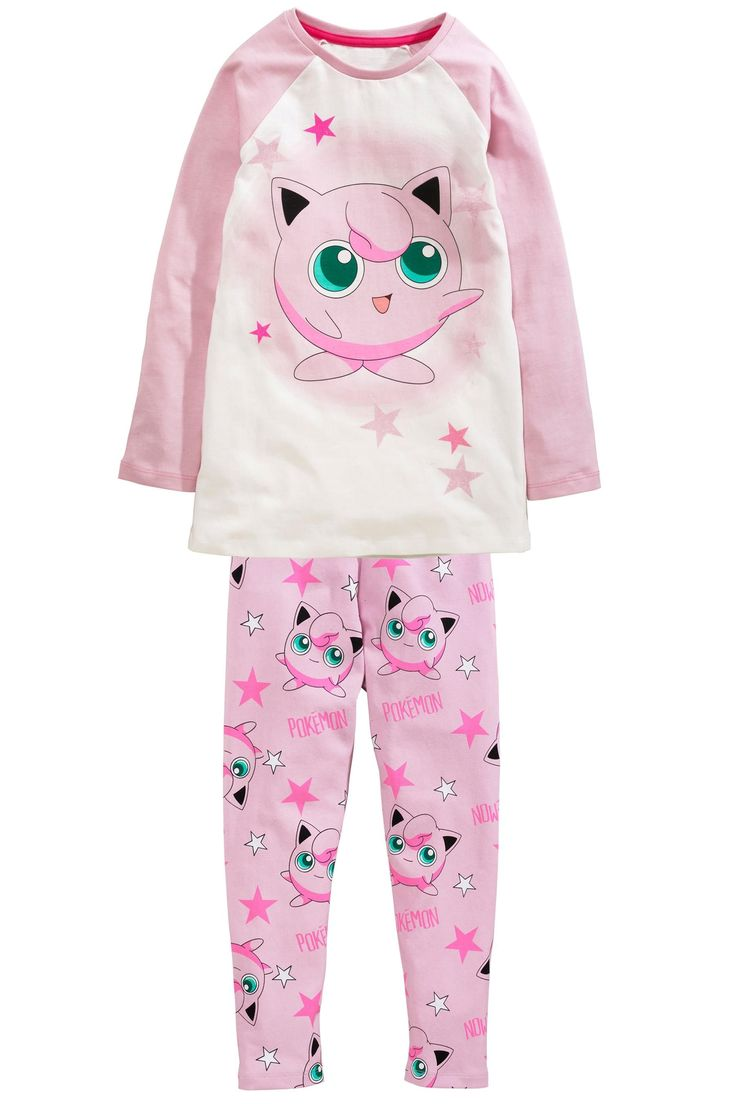 Buy Pink Jigglypuff Legging Pyjamas (3-12yrs) from the Next UK online shop