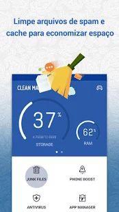 Clean Master (Otimizador): miniatura da captura de tela
