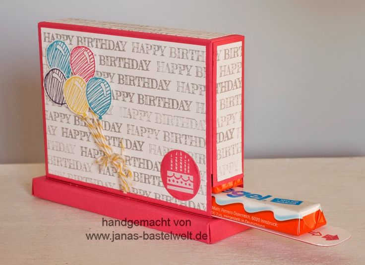 Janas Bastelwelt - Unabhängige Stampin' Up! Demonstratorin: Video-Tutorial: Duplo- bzw. Kinderriegelspender