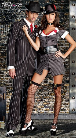 Sexy matching halloween costumes-4530