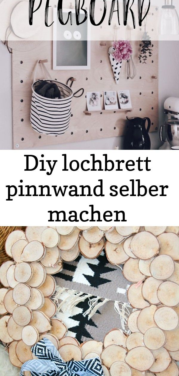 Diy Lochbrett Pinnwand Selber Machen