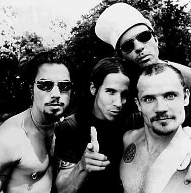 Red Hot Chili Peppers - Have had a huge influence on my musical past... Brilliant live and seem to be utterly timeless