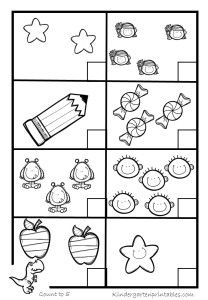 counting worksheets 1 5 number worksheets pinterest worksheets printable preschool. Black Bedroom Furniture Sets. Home Design Ideas