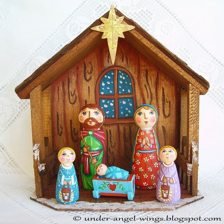 110 best nacimiento pesebre beln nativity images on pinterest christmas nativity set holy family three kings by underangelwings solutioingenieria Gallery