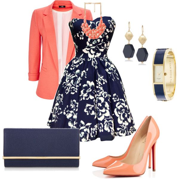 how cute. jacket for work,dress for an elegant evening out! its a day-night!