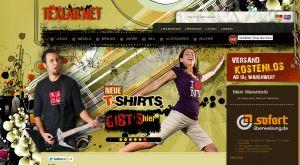 T-Shirts, Filmshirts und vieles mehr... Tex-Lab in der Nachprüfung