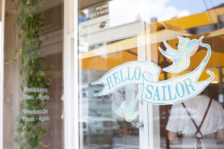 Hello Sailor. Hawthorn cafe in the heart of Auburn Village...