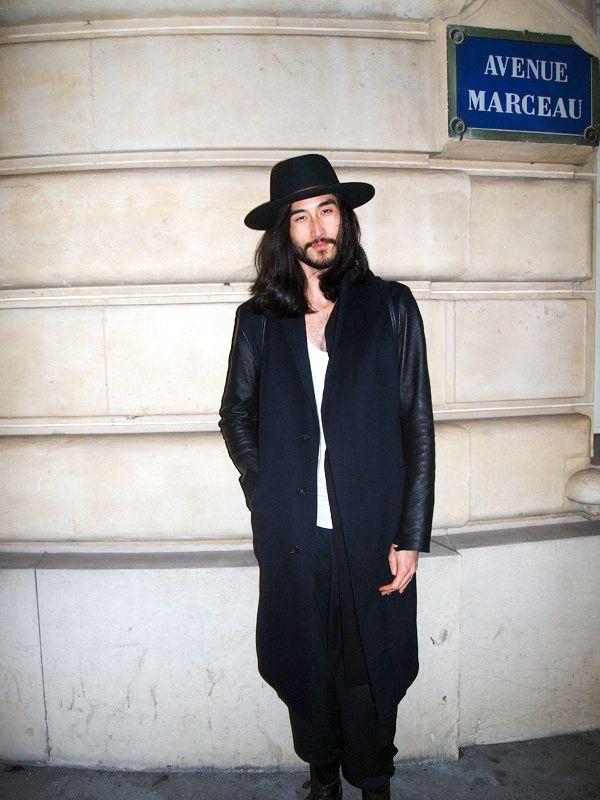 Anthony Thornburg Streetstyle Paris 2014