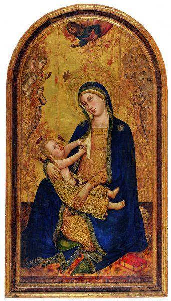 """Silvestro dei Gherarducci - """"Madonna dell'Umiltà"""" - 1370 - 1377 - Galleria dell'Accademia - Firenze"""