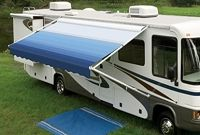 A&E and Carefree 17' Universal RV Awning Fabric