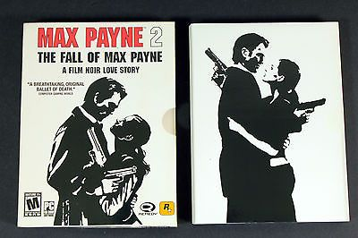 Max Payne 2 The Fall of Max Payne A Film Noir Love Story PC Computer Game