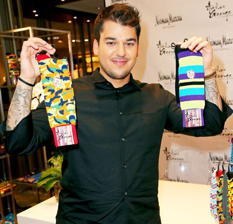 Rob Kardashian is his own man. In a recent interview he admits that he'd rather focus on his new luxury sock line, Arthur George, than appear on the reality show that put his family on the map.