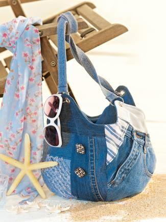 Jeans-Tasche selbermachen