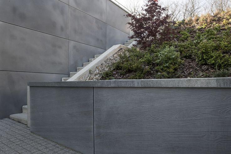 #látványbeton #betondesign #támfal #burkolat