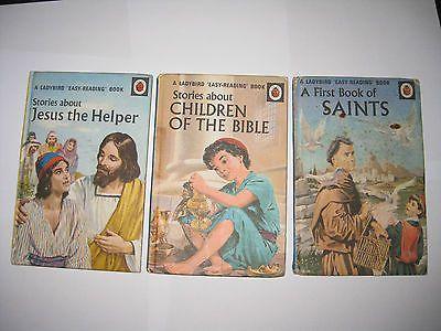Vintage Ladybird Book - Saints, Jesus, Children of the Bible