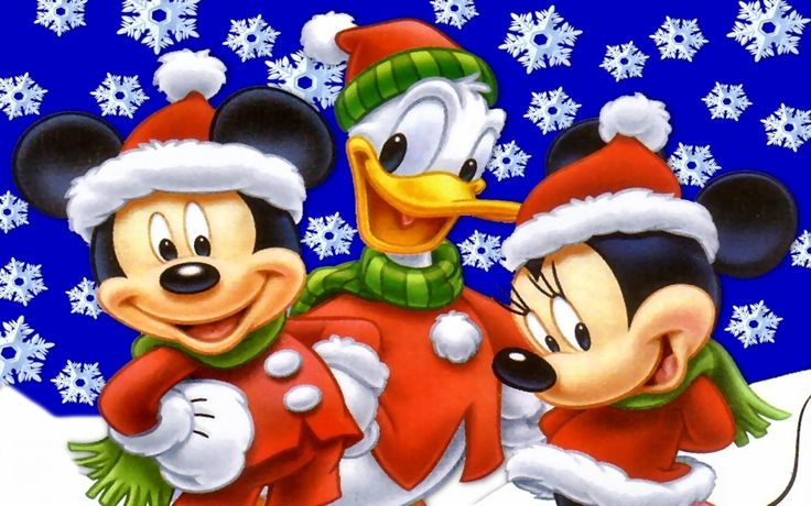 Disney Christmas Wallpapers Free - Wallpaper Cave