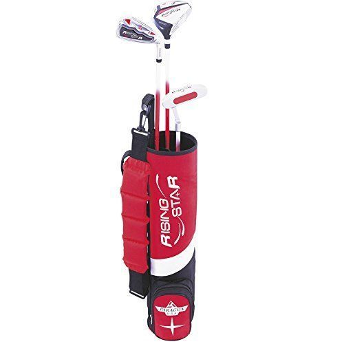 Paragon Rising Star Kids/Toddler Golf Clubs Set / Ages 3-5 Red Left-Hand #Paragon
