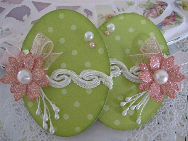 Easter Egg Embellishments by vsroses.com, via Flickr