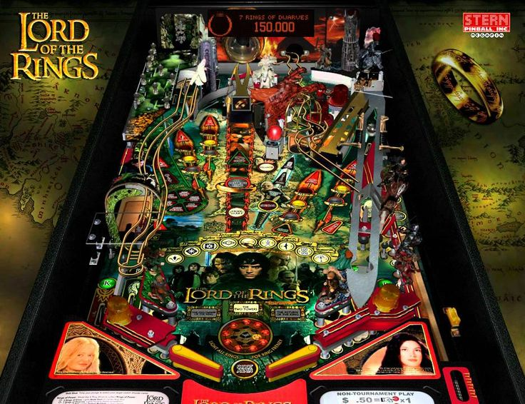 The Lord of the Rings, Stern Pinball, October 2003, gameplay