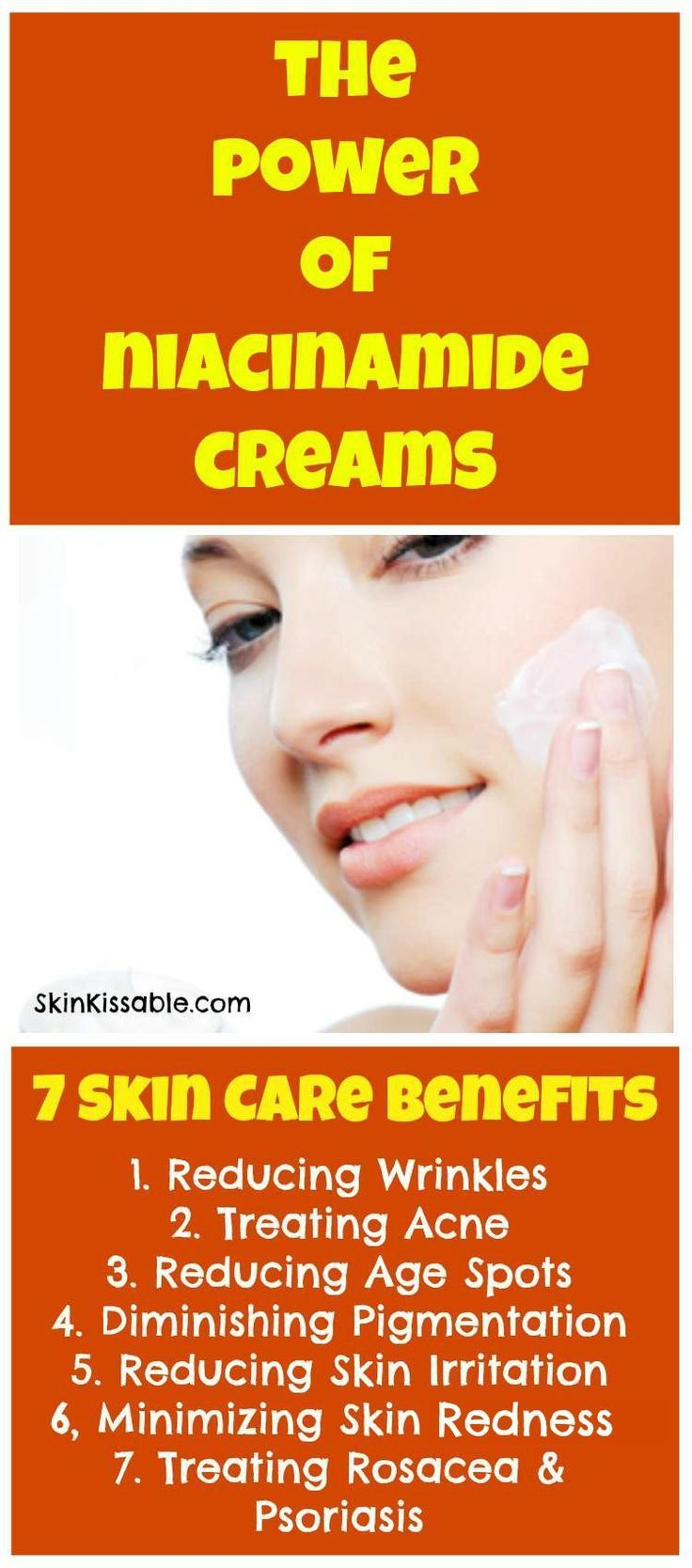 Niacinamide Cream Benefits For Skin Derived From Vitamin B3 Niacin Is A Vitamin With Plenty Of Benefits For Rosacea Skin Care Skin Redness Skin Care Benefits