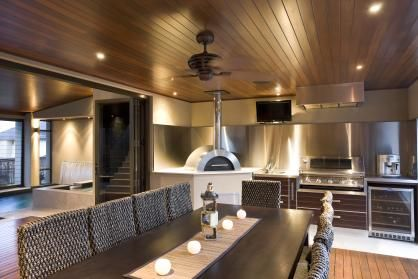 trendsideas.com: architecture, kitchen and bathroom design: Outside in – second alfresco kitchen