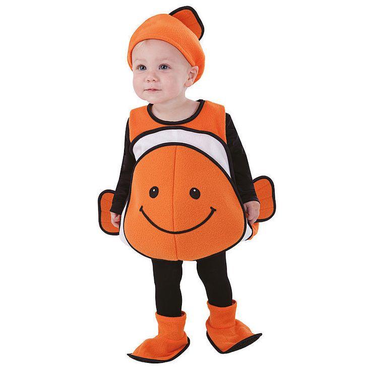 Clown Fish Nemo Halloween Costume Vest Child's Infant Toddler 1-2 Y - Best 25+ Nemo Costume Ideas On Pinterest Finding Nemo Costume