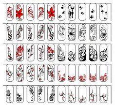 вензеля на ногтях - Поиск в Google