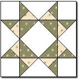 Missouri Star, possible barn quilt block