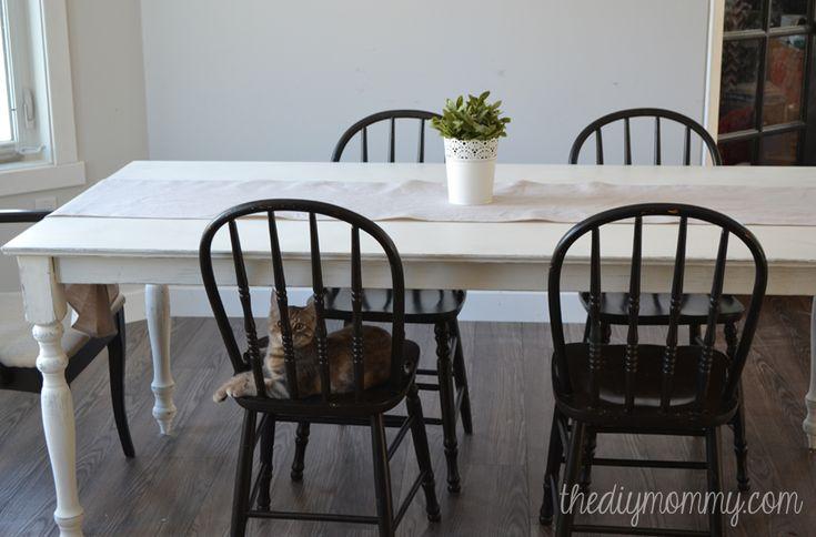 Chalk Paint Kitchen Table: 163 Best Painted Dining Set Images On Pinterest