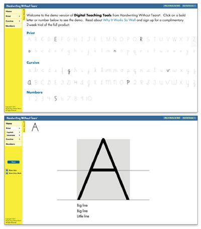 handwriting without tears block paper pdf