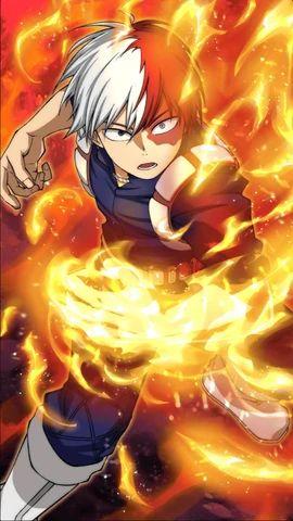 Bild – Shoto Todoroki Charakter Art 9 Smash Tap.png | Mein Hero Academia Wiki | F …