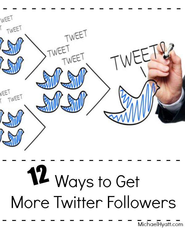 12 ways to get more Twitter followers, Michael Hyatt