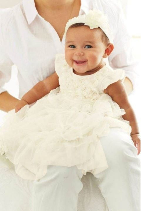 40 besten baby Bilder auf Pinterest | Schwangerschaft, Taufe kleider ...