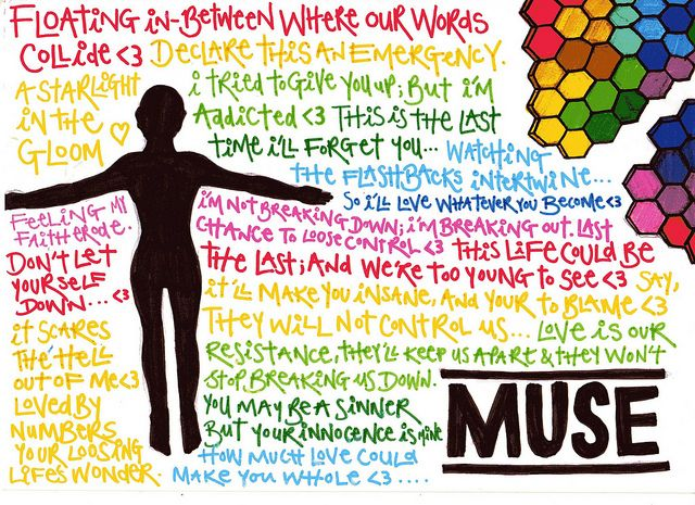 Muse lyrics from 'Absolution' and 'The Resistance'