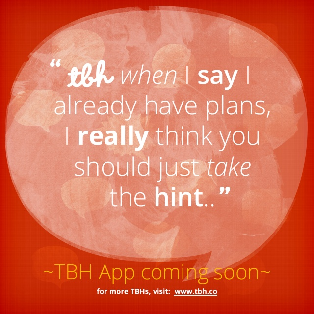New Tbh Quotes. QuotesGram