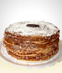 Torta de Mil Hojas. Absolutely my favorite cake.