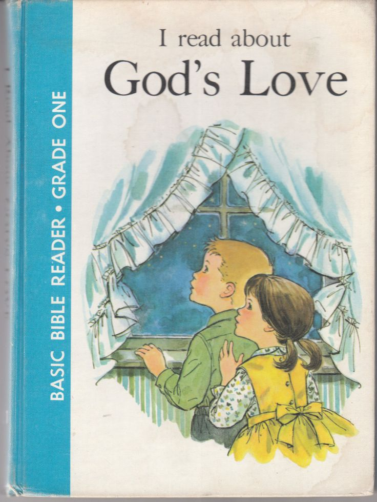 I Read About God's Love 1962 Basic Bible Reader Grade One by BirdhouseBooks on Etsy