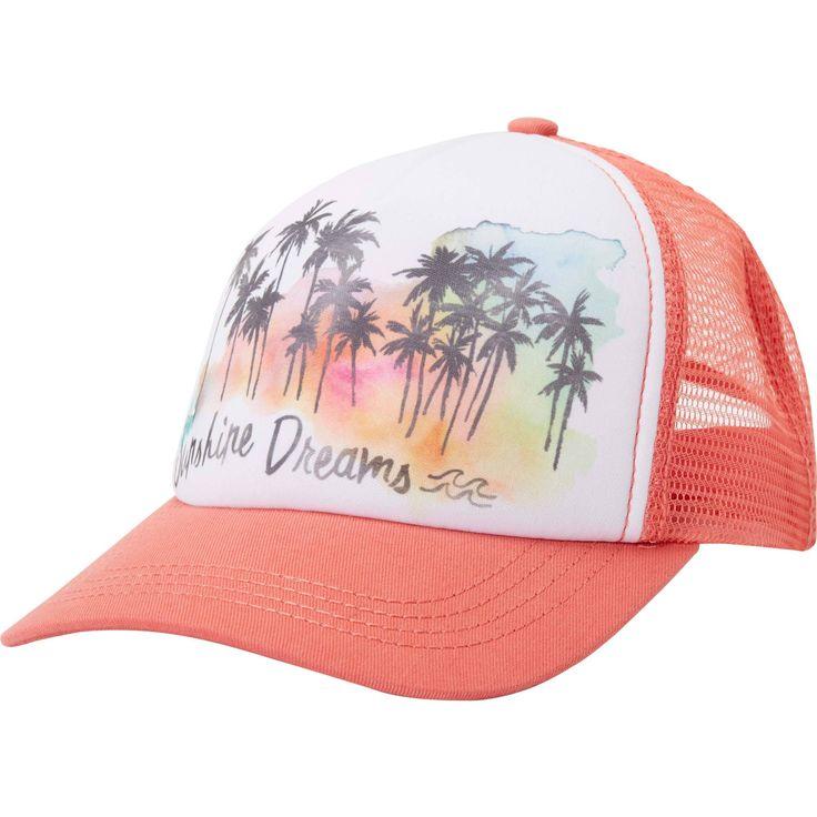 Billabong Girls' Sweet Dawn Hat - Vintage Coral