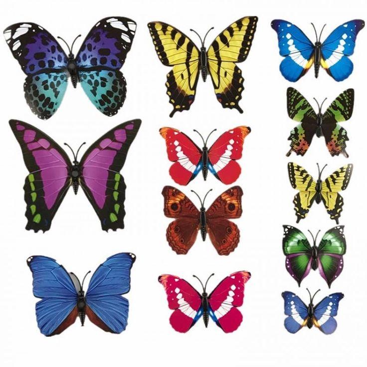 3D Бабочки - сборная серия