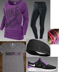 Nike knows how to create fun comfortable workout gear for the ladies.