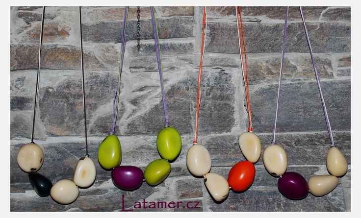 Necklaces and keychains made by Latamer