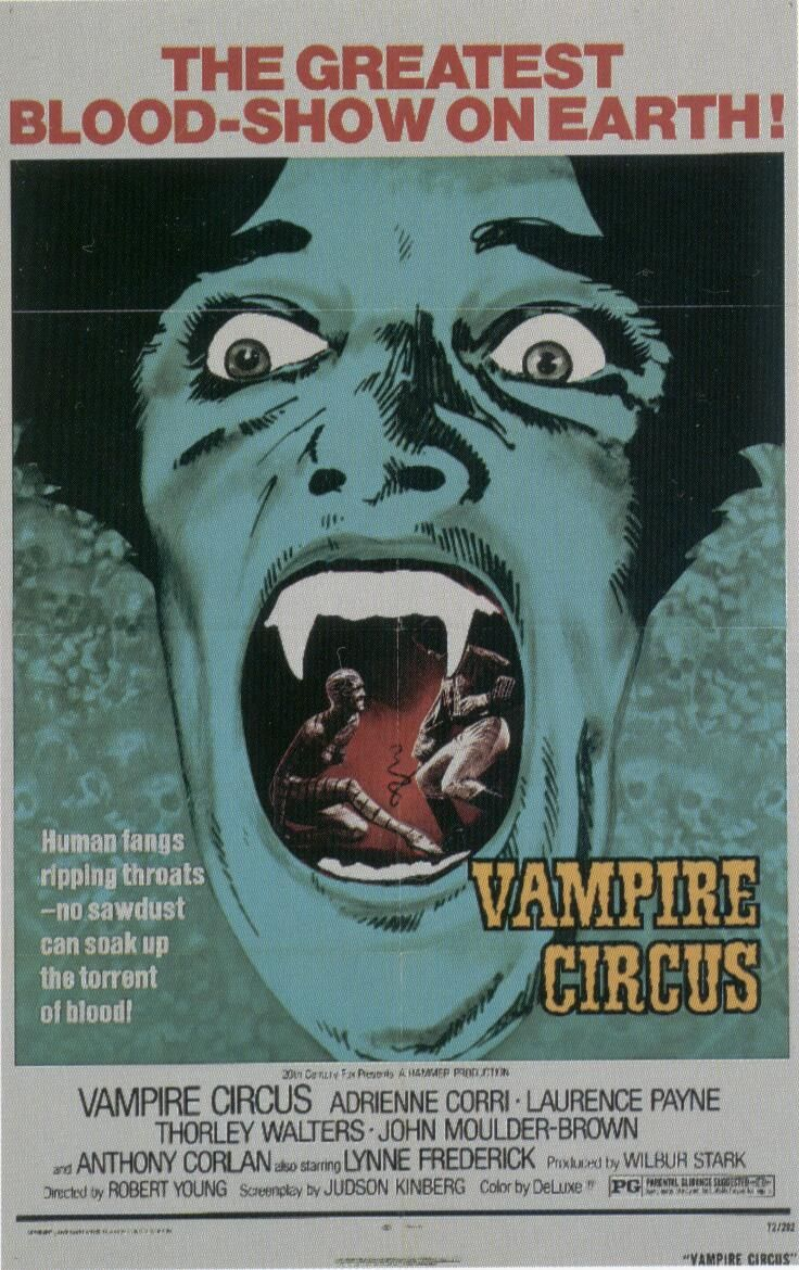 10/11/1972-Vampire Circus is released to theatres.