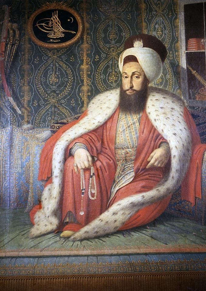 Portrait Of Sultan Selim Iii S Ltan Iii Selim Portresi