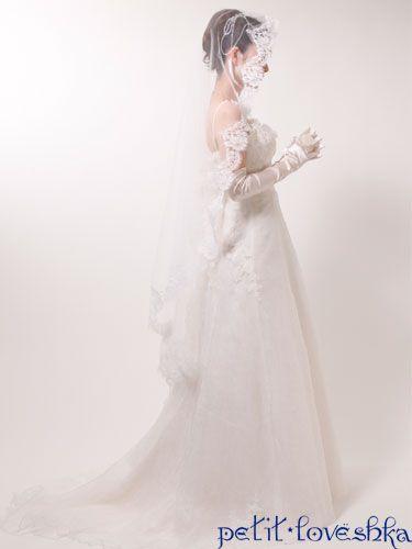 マリアヴェール / ベール / veil / 結婚式 / wedding / オリジナルウェディング / プティラブーシュカ / トキメクウェディング