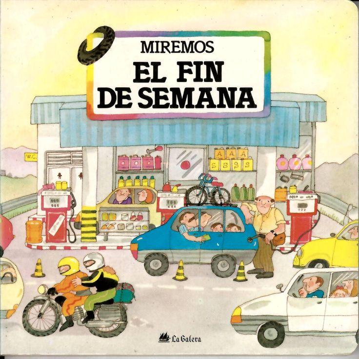 El fin de semana / guión Teresa Ribas y Pilar Casademunt; ilustraciones Roser Capdevila http://absysnetweb.bbtk.ull.es/cgi-bin/abnetopac?ACC=DOSEARCH&xsqf99=514370.