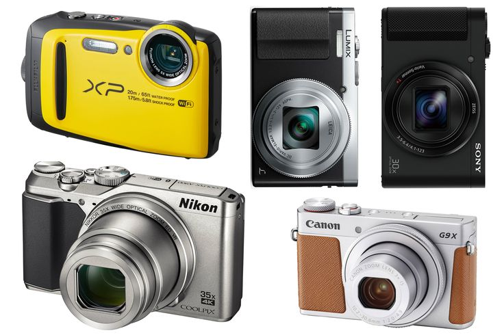 Streamline your luggage but retain the ability to take superior snaps with these top compact travel cameras for your holiday.