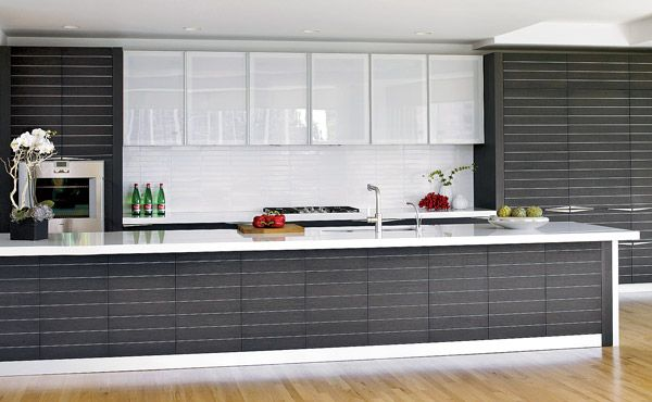 Horizontal Lines Created By Aluminum Inlays In The