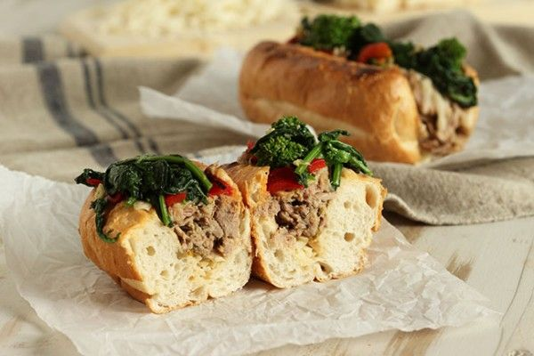 Inspired by Dinic's Roast Pork Sandwich at Reading Terminal Market in Philadelphia, this Philly Style Roast Pork Sandwich is simply amazing. Loaded with tender pulled pork that's been slow roasted...