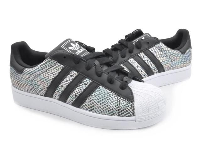 adidas originals superstar 2 w silver holographic